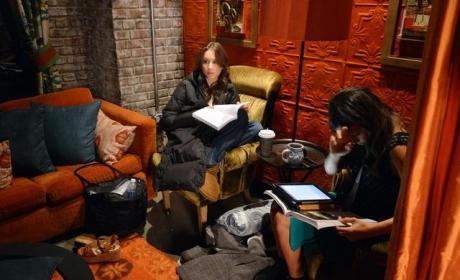 Spencer Studying