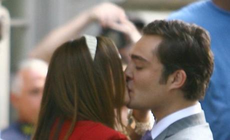 Ed and Leighton Kiss