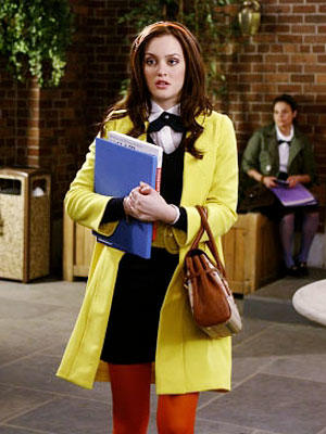 Blair Waldorf in Yellow