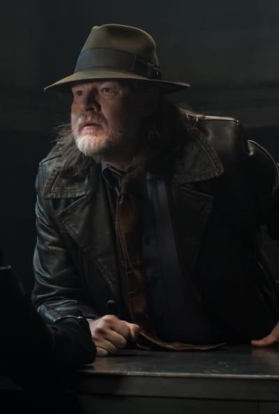 Harvey Questions Zsasz - Gotham Season 5 Episode 9