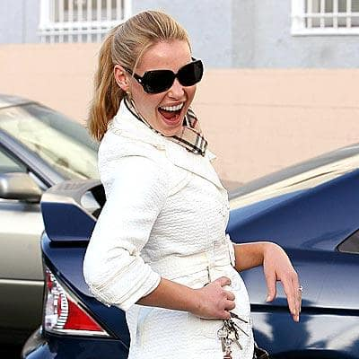 Heigl in Good Spirits