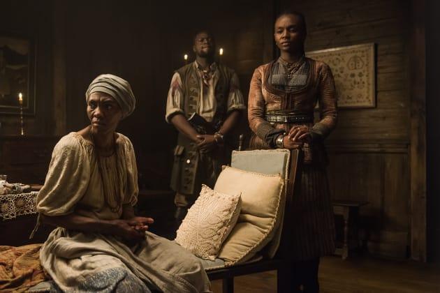 Madi and Ruth - Black Sails Season 4 Episode 2