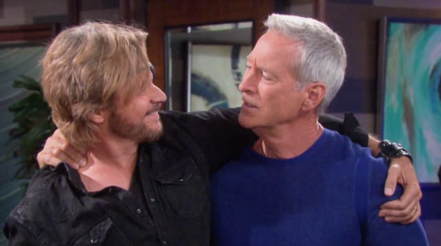 John poisons Steve - Days of Our Lives