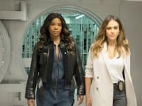 Gabrielle Union and Jessica Alba - LA's Finest