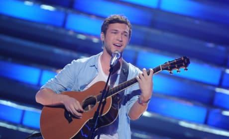 Phillip Phillips on American Idol Finale