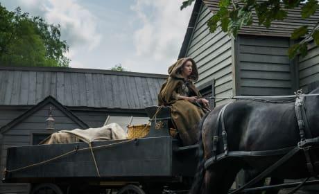 Marsali in the Wagon - Outlander Season 4 Episode 12