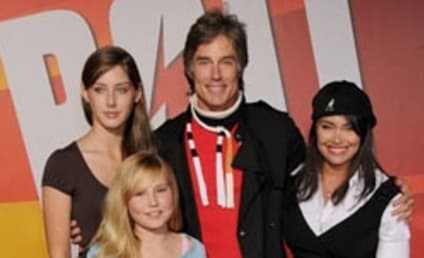 Ronn Moss Poses with Family