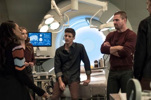 Getting Information - The Flash Season 5 Episode 9