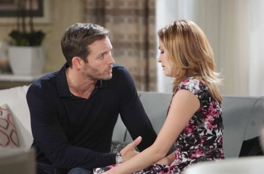 Brady Consoles Theresa - Days of Our Lives