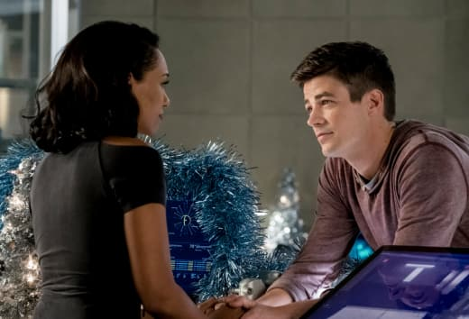 Mr And Mrs WestAllen - The Flash Season 4 Episode 9