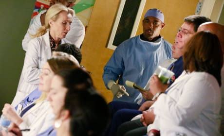 Ben Has An Update - Grey's Anatomy Season 11 Episode 19