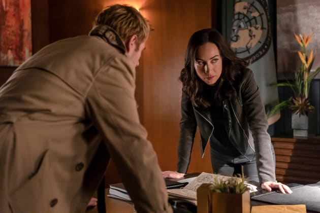 Taking Down a Demon - DC's Legends of Tomorrow