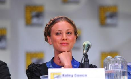 Kaley Cuocoo at Comic-Con
