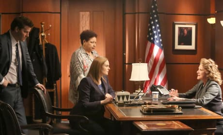 Brennan and Caroline Ask for a Warrant - Bones Season 10 Episode 18