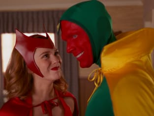 Scarlet Witch and Vision - WandaVision Season 1 Episode 6