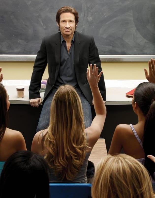 Hank as a Professor