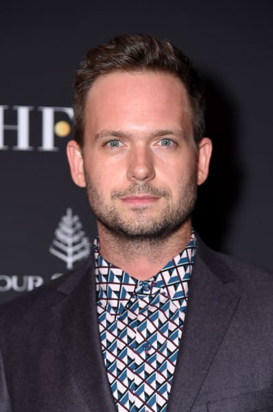 Patrick J. Adams Attends The Hollywood Foreign Press Association