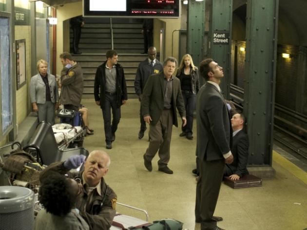 Subway Station Scene