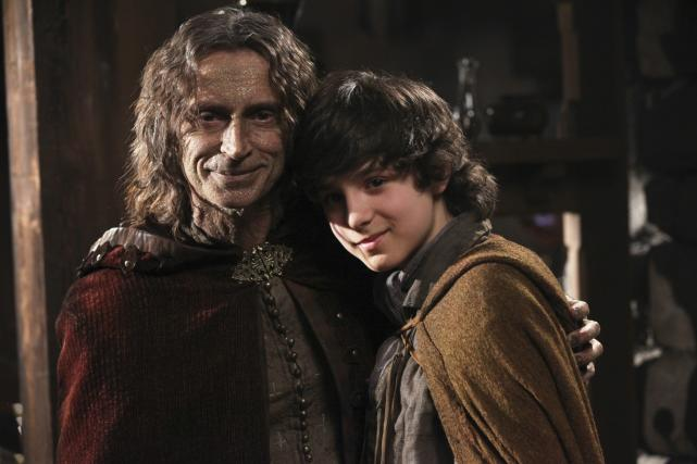 Rumplestiltskin and Baelfire - Once Upon a Time