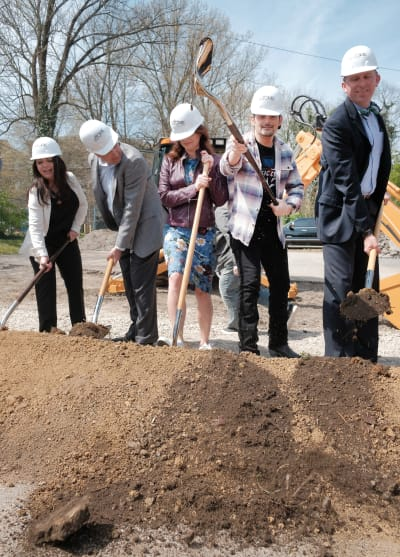 Breaking Ground on The Store