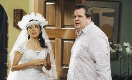 Cameron with a Bride