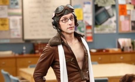 Dean Pelton in Costume