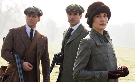 Tom, Anthony and Mary - Downton Abbey