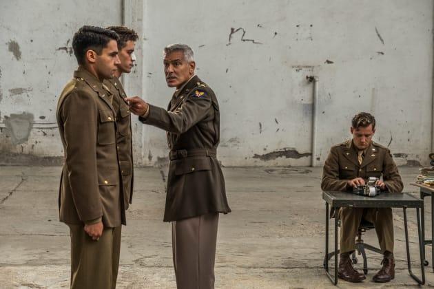 George Clooney as Scheisskopf