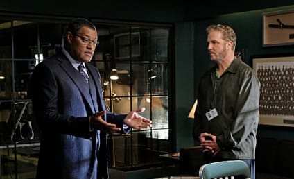 CSI Spoilers: First Look at Laurence Fishburne