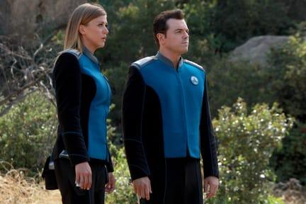 Captain and Ex. O. - The Orville Season 1 Episode 12