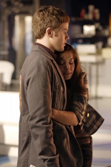 Lois Hugs Jimmy