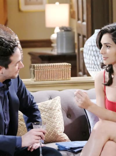 Gabi and Stefan's Romantic Night - Days of Our Lives
