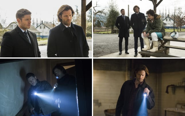 Sam and dean are on the latest case supernatural season 12 episo
