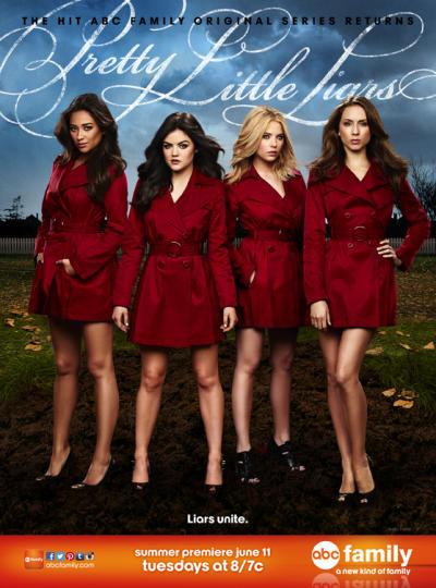 Pretty Little Liars Season 4 Poster