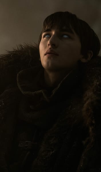 Bran Tracks a Raven - Game of Thrones Season 8 Episode 3