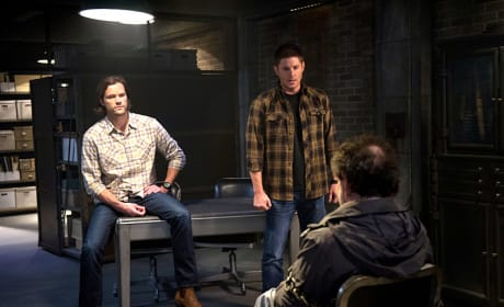 Sam, Dean and Metatron - Supernatural Season 10 Episode 10