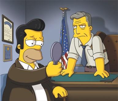 Jon Hamm on The Simpsons