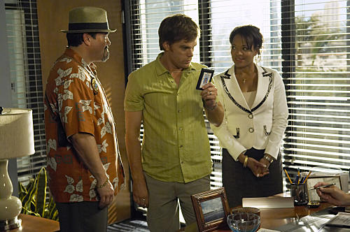 Angel, Dexter and Laguerta