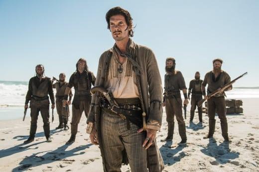 Capt. Jack's Priceless Expressions - Black Sails Season 4 Episode 6