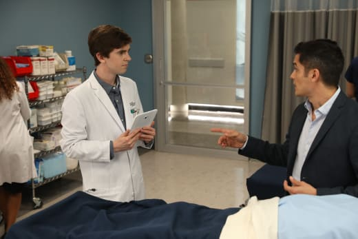 shaun and neil - The Good Doctor Season 1 Episode 7