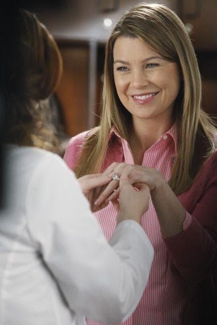 Meredith Engaged!