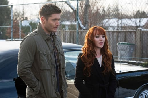 Rowena makes a statement - Supernatural Season 12 Episode 13