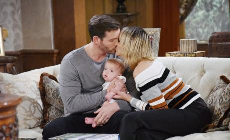 Brady, Holly, and Nicole - Days of Our Lives