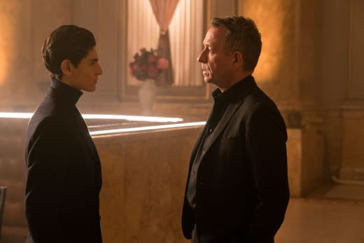 Bruce and Alfred Reunited - Gotham Season 4 Episode 14