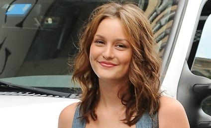 Leighton Meester Dazzles in Denim