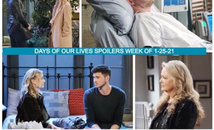 Days of Our Lives Spoilers Week of 1-25-21: Look Who's Back!