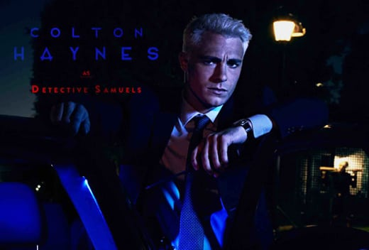 Colton Haynes as Detective Samuels - American Horror Story