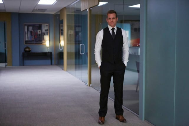 Gabriel Macht is Harvey Specter in Suits