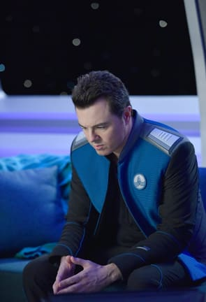 Serious Mercer - The Orville Season 1 Episode 11