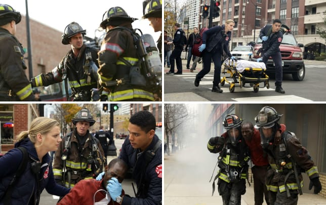 Just another day chicago fire